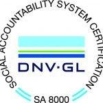 certificazione SA 8000 - priano marchelli